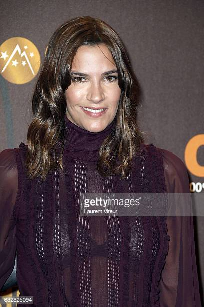 Actress Charlotte Gabris attends Closing Ceremony during the 20th l'Alpe d'Huez International Comedy Film Festival on January 21 2017 in Alpe d'Huez...
