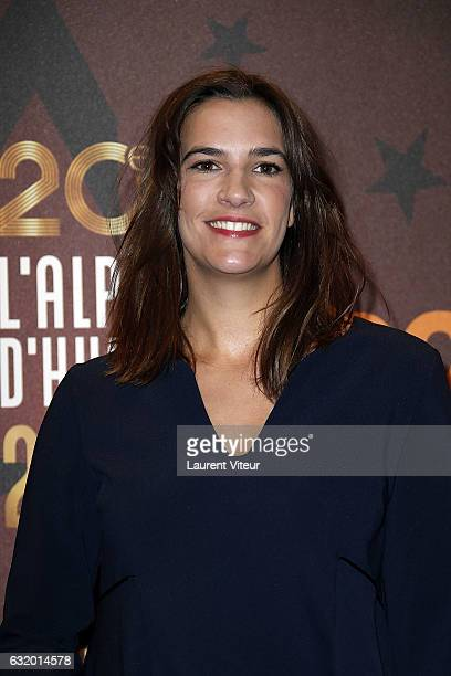 Actress Charlotte Gabris attends 'L'Ascension' photocall during tne 20th L'Alpe D'Huez International Film Festival on January 18 2017 in Alpe d'Huez...