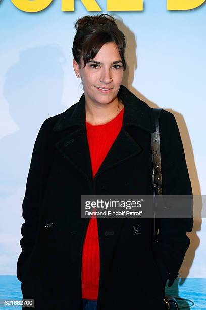 Actress Charlotte Gabris attends the 'Ma famille t'adore deja' Paris Premiere at Cinema Elysee Biarritz on November 7 2016 in Paris France
