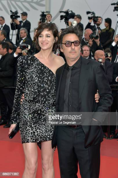 Actress Charlotte Gainsbourg and actor Yvan Attal attend the 'The Meyerowitz Stories' screening during the 70th annual Cannes Film Festival at Palais...