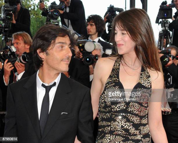 Actress Charlotte Gainsbourg and actor Yvan Attal attends the 'Coco Chanel Igor Stravinsky' Premiere at the Grand Theatre Lumiere during the 62nd...