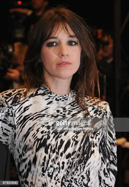 Actress Charlotte Gainsbourg attends the 'Antichrist' premiere at the Grand Theatre Lumiere during the 62nd Annual Cannes Film Festival on May 18...