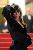 Actress Charlotte Gainsbourg attends the 'Melancholia' premiere during the 64th Annual Cannes Film Festival at Palais des Festivals on May 18 2011 in...