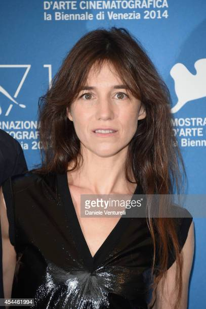 Actress Charlotte Gainsbourg attends the 'Nymphomaniac Volume 2 Directors Cut' Photocall during the 71st Venice Film Festival at Palazzo Del Casino...
