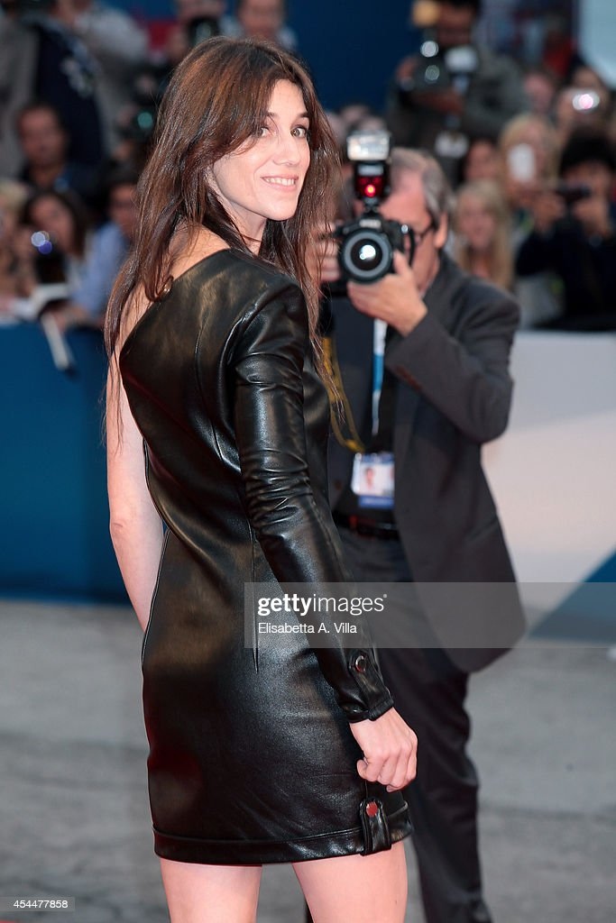 Actress <a gi-track='captionPersonalityLinkClicked' href=/galleries/search?phrase=Charlotte+Gainsbourg&family=editorial&specificpeople=243034 ng-click='$event.stopPropagation()'>Charlotte Gainsbourg</a> attends the 'Nymphomaniac: Volume 2 - Directors Cut' Premiere during the 71st Venice Film Festival on September 1, 2014 in Venice, Italy.