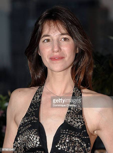 Actress Charlotte Gainsbourg attends the Palme d'Or Award Ceremony Photocall at the Palais des Festivals during the 62nd Annual Cannes Film Festival...