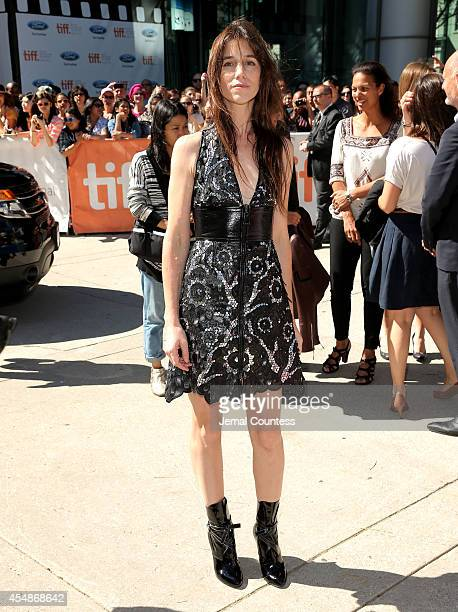 Actress Charlotte Gainsbourg attends the 'Samba' premiere during the 2014 Toronto International Film Festival at Roy Thomson Hall on September 7 2014...