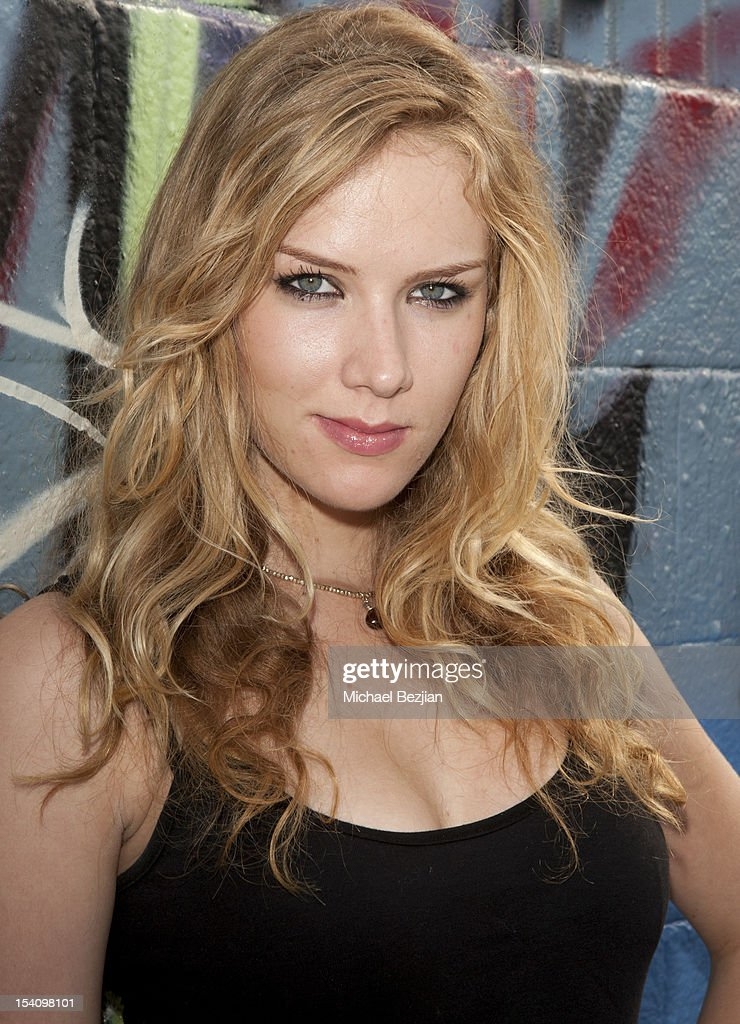 Actress Charlotte Kirk attends David Arquette's Piece Fest - a music and street festival to benefit Pico Union Housing Corp. and Graff Lab at The Graff Lab on October 13, 2012 in Los Angeles, California.