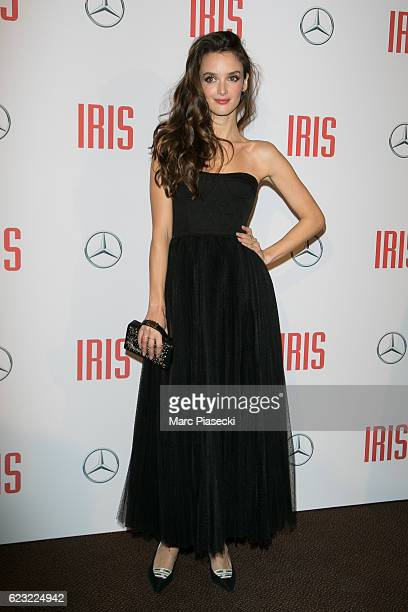Actress Charlotte Le Bon attends 'IRIS' Premiere at Gaumont Champs Elysees on November 14 2016 in Paris France