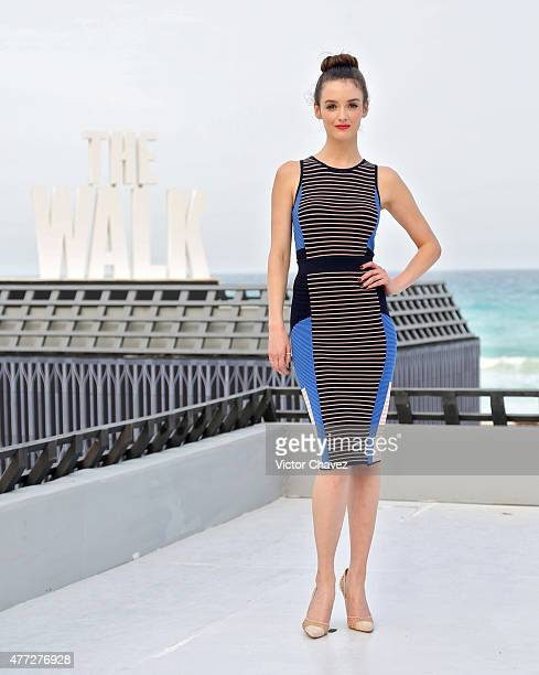 Actress Charlotte Le Bon attends the 'The Walk' photo call during Summer Of Sony Pictures Entertainment 2015 at The RitzCarlton Cancun on June 15...