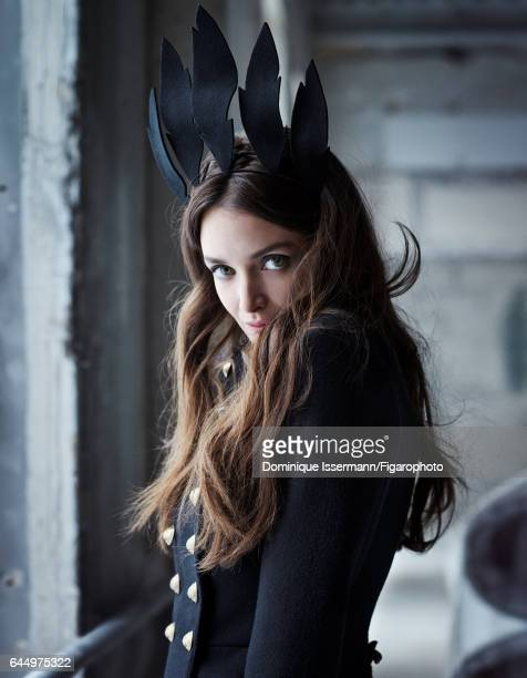 Actress Charlotte Le Bon is photographed for Madame Figaro on January 27 2017 in Paris France All Makeup by Dior COVER IMAGE CREDIT MUST READ...
