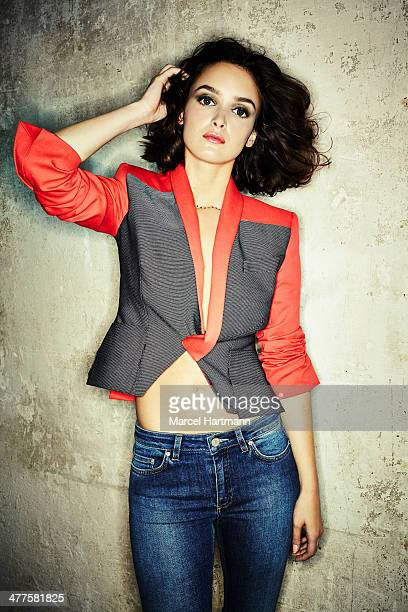 Actress Charlotte Le Bon is photographed for Self Assignment on October 4 2013 in Paris France