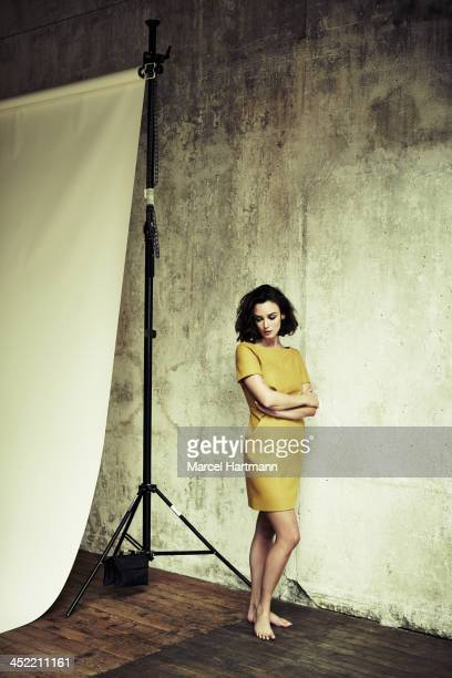 Actress Charlotte Le Bon is photographed for TGV magazine on November 12 2013 in Paris France