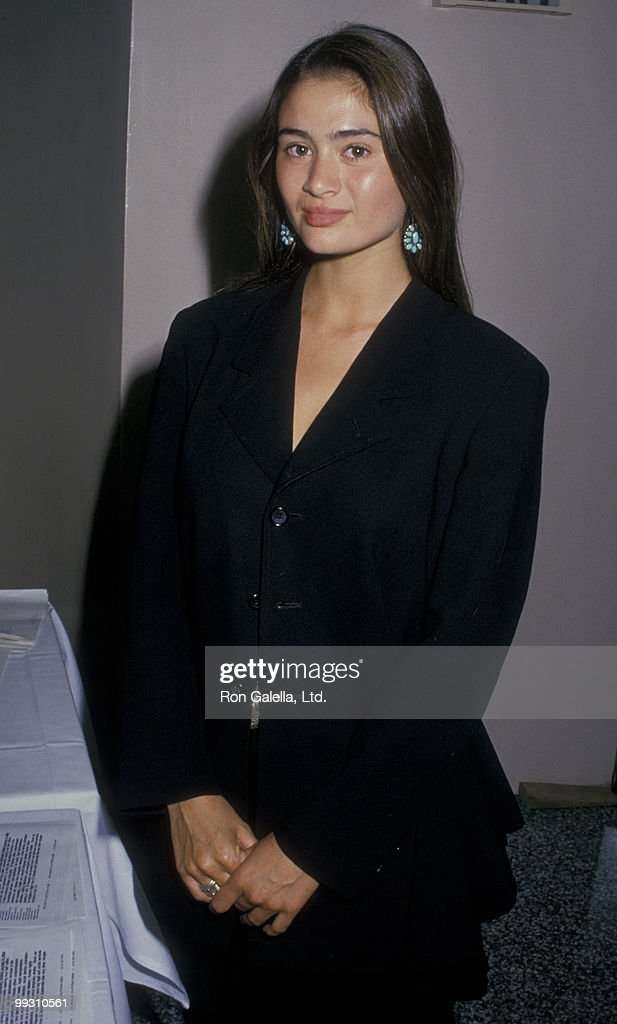 Actress Charlotte Lewis attends El Rescate Benefit on July 22, 1988 at Palette Restaurant in Los Angeles, California.