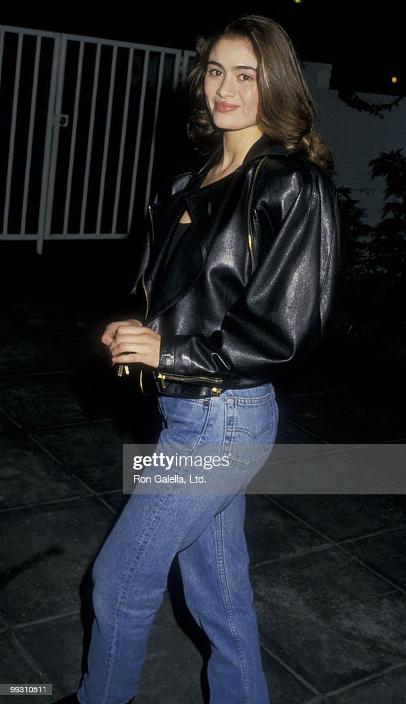 Actress Charlotte Lewis attends the premiere of 'Shoot To Kill' on February 4, 1988 at Mann Village Theater in Westwood, California.