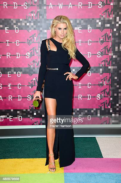 Actress Charlotte McKinney attends the 2015 MTV Video Music Awards at Microsoft Theater on August 30 2015 in Los Angeles California