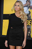 Actress Charlotte McKinney attends the Warner Bros Pictures premiere of 'Central Intelligence' held at Regency Village Theater on June 10 2016 in...