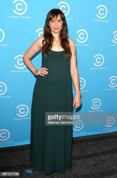 Actress Charlotte Newhouse of 'Idiotsitter' attends Comedy Central's LA Press Day at Viacom Building on May 23 2017 in Los Angeles California
