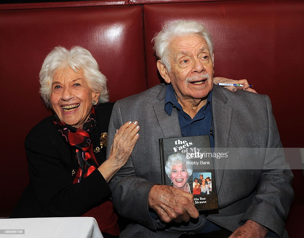 charlotte rae book signing getty images