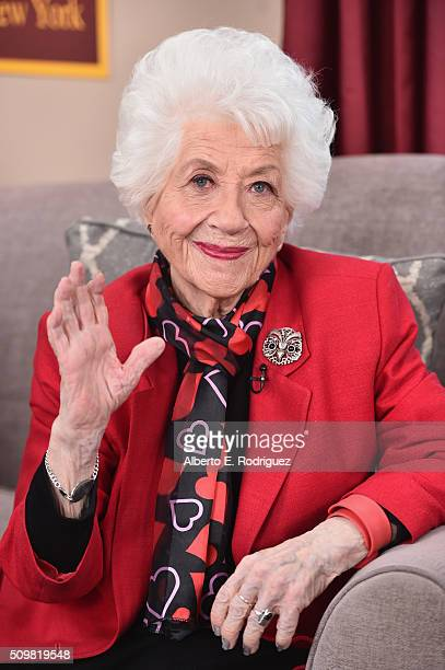 Actress Charlotte Rae attends Hallmark's Home and Family 'Facts Of Life Reunion' at Universal Studios Backlot on February 12 2016 in Universal City...
