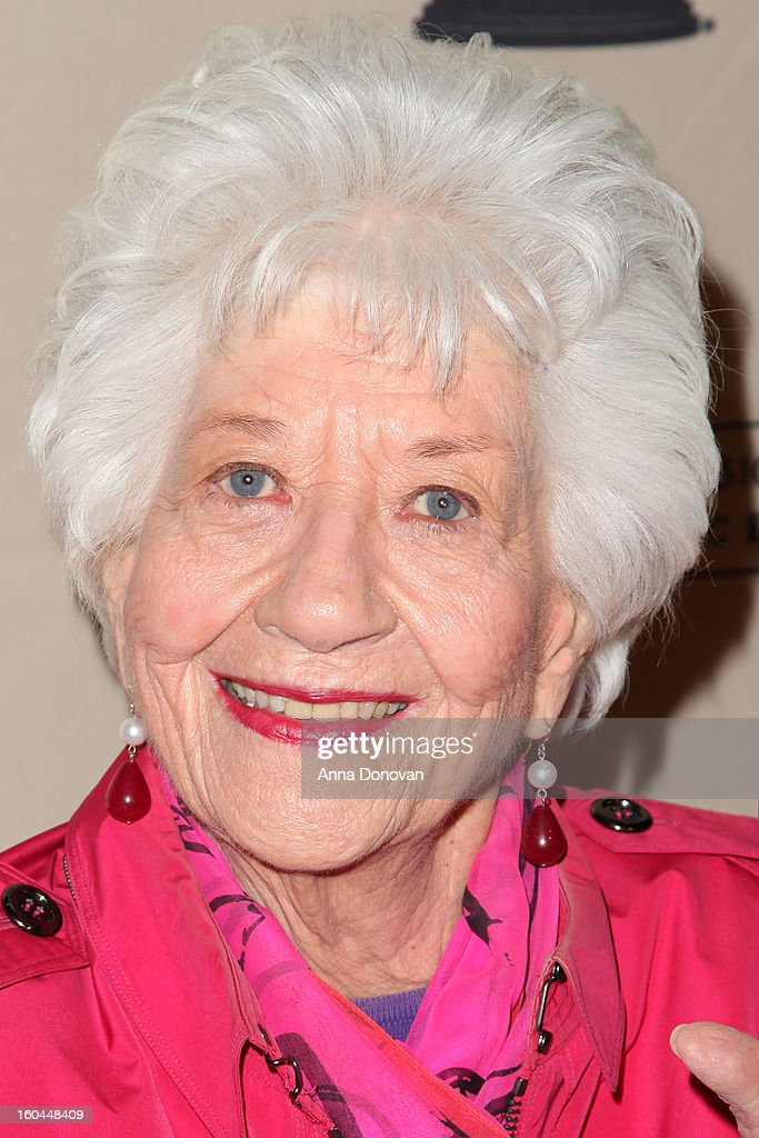 Actress Charlotte Rae attends 'Retire From Showbiz:? No Thanks!' at the Academy of Television Arts & Sciences Conference Centre on January 31, 2013 in North Hollywood, California.