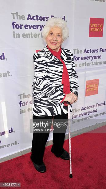 Actress Charlotte Rae attends the Actors Fund's 18th annual Tony Awards Party on June 8 2014 at the Skirball Center in Los Angeles California