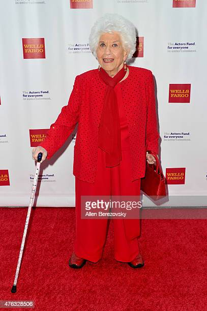 Actress Charlotte Rae attends The Actors Fund's 19th Annual Tony Awards viewing party at Skirball Cultural Center on June 7 2015 in Los Angeles...