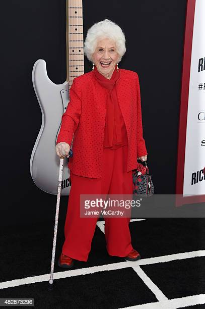 Actress Charlotte Rae attends the New York premier of 'Ricki And The Flash' at AMC Lincoln Square Theater on August 3 2015 in New York City