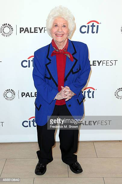Actress Charlotte Rae attends The Paley Center for Media's PaleyFest 2014 Fall TV Preview 'The Facts of Life' 35th Anniversary Reunion at The Paley...