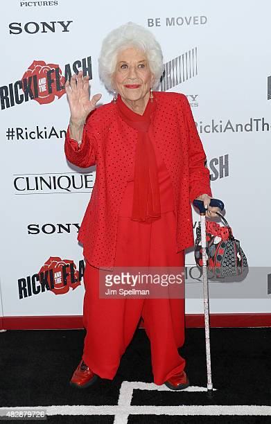 Actress Charlotte Rae attends the 'Ricki And The Flash' New York premiere at AMC Lincoln Square Theater on August 3 2015 in New York City
