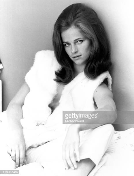 Actress Charlotte Rampling 1965
