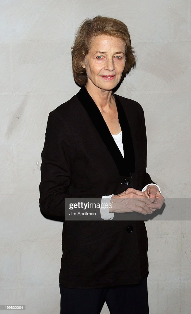 Actress <a gi-track='captionPersonalityLinkClicked' href=/galleries/search?phrase=Charlotte+Rampling&family=editorial&specificpeople=212770 ng-click='$event.stopPropagation()'>Charlotte Rampling</a> attends Sundance Selects' '45 Years' screening hosted by The Cinema Society with Lillet and NARS at Landmark Sunshine Cinema on December 3, 2015 in New York City.