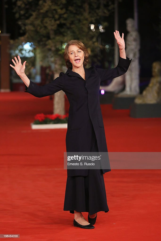 Actress Charlotte Rampling attends the 'Tutto Parla Di Te' Premiere during the 7th Rome Film Festival at the Auditorium Parco Della Musica on November 15, 2012 in Rome, Italy.