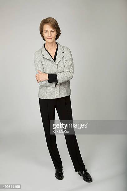 Actress Charlotte Rampling is photographed for Los Angeles Times on November 13 2015 in Los Angeles California PUBLISHED IMAGE CREDIT MUST READ Kirk...
