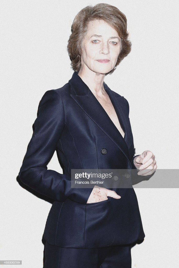 Actress <a gi-track='captionPersonalityLinkClicked' href=/galleries/search?phrase=Charlotte+Rampling&family=editorial&specificpeople=212770 ng-click='$event.stopPropagation()'>Charlotte Rampling</a> is photographed for Self Assignment during the 13th Marrakech Film Festival on December 2, 2013 in Marrakech, Morocco.