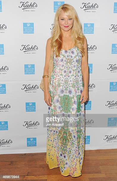Actress Charlotte Ross arrives at Kiehl's 2015 Earth Day Project With Elizabeth Olsen And Maggie Q at Kiehls Since 1851 Santa Monica Store on April...