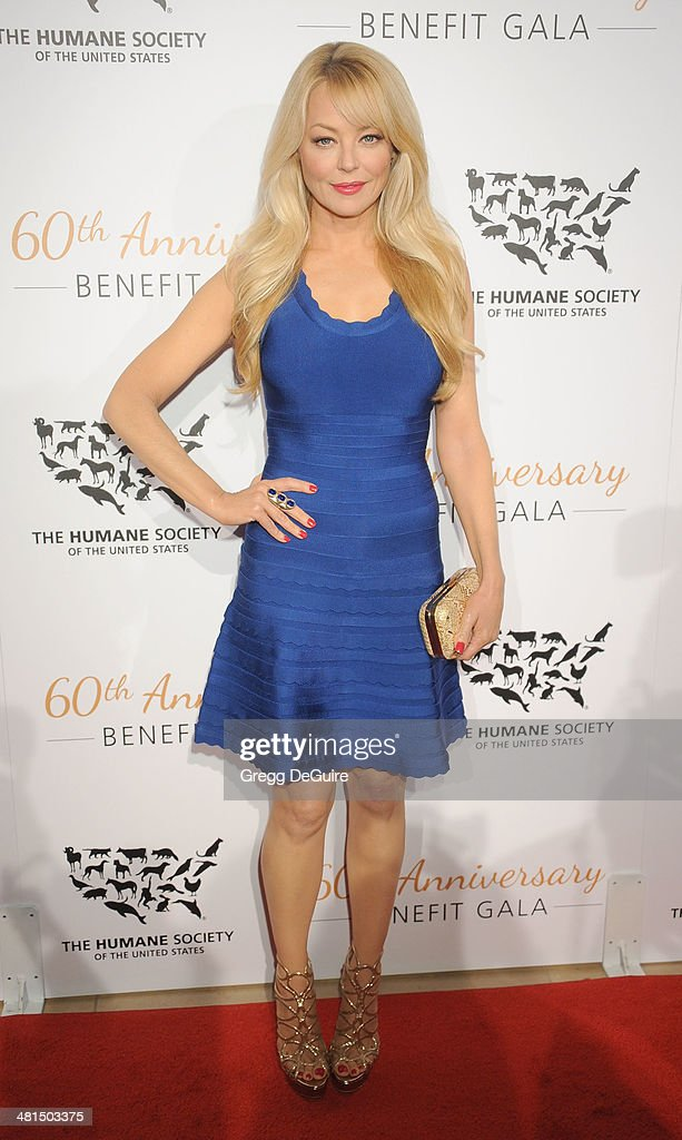 Actress <a gi-track='captionPersonalityLinkClicked' href=/galleries/search?phrase=Charlotte+Ross+-+Actress&family=editorial&specificpeople=217600 ng-click='$event.stopPropagation()'>Charlotte Ross</a> arrives at The Humane Society Of The United States 60th anniversary benefit gala at The Beverly Hilton Hotel on March 29, 2014 in Beverly Hills, California.
