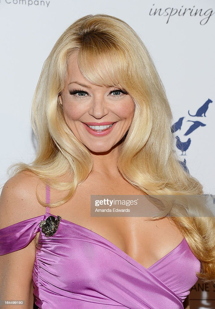 Actress Charlotte Ross arrives at The Humane Society's 2013 Genesis Awards Benefit Gala at The Beverly Hilton Hotel on March 23, 2013 in Beverly Hills, California.