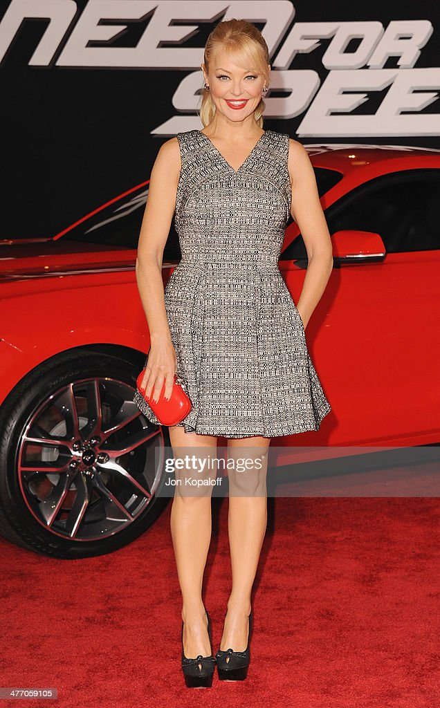 Actress <a gi-track='captionPersonalityLinkClicked' href=/galleries/search?phrase=Charlotte+Ross+-+Actress&family=editorial&specificpeople=217600 ng-click='$event.stopPropagation()'>Charlotte Ross</a> arrives at the Los Angeles Premiere 'Need For Speed' at TCL Chinese Theatre on March 6, 2014 in Hollywood, California.