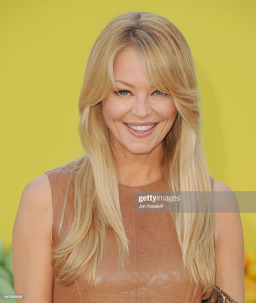 Actress Charlotte Ross arrives at the Los Angeles Premiere 'Sausage Party' at Regency Village Theatre on August 9, 2016 in Westwood, California.