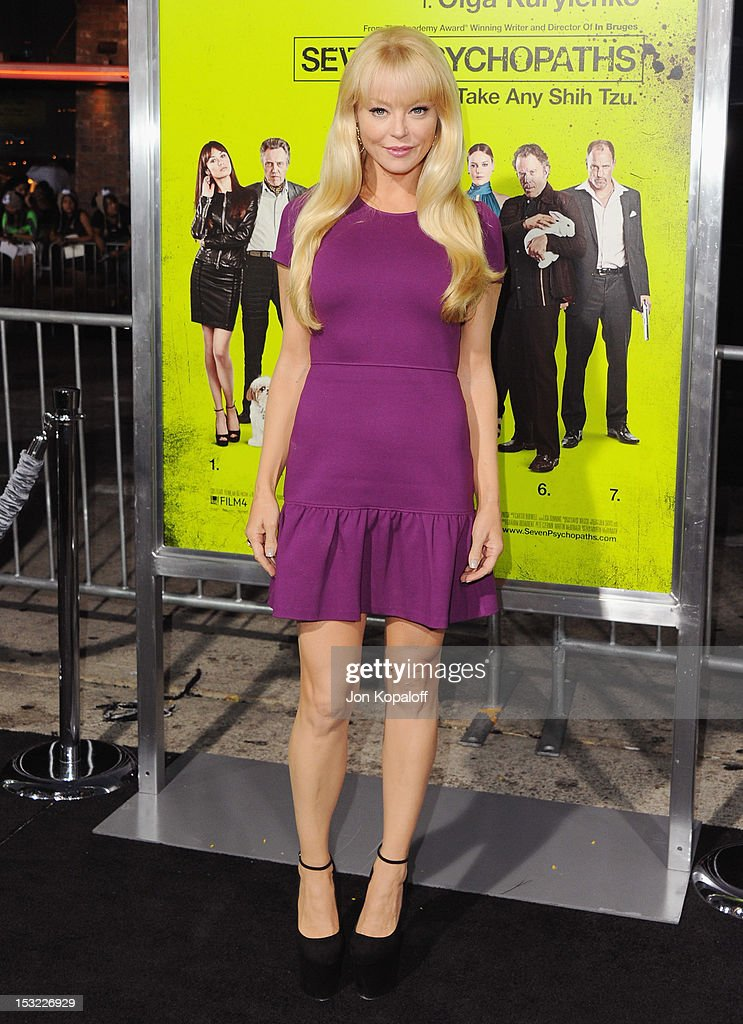 Actress Charlotte Ross arrives at the Los Angeles Premiere 'Seven Psychopaths' at Mann Bruin Theatre on October 1, 2012 in Westwood, California.