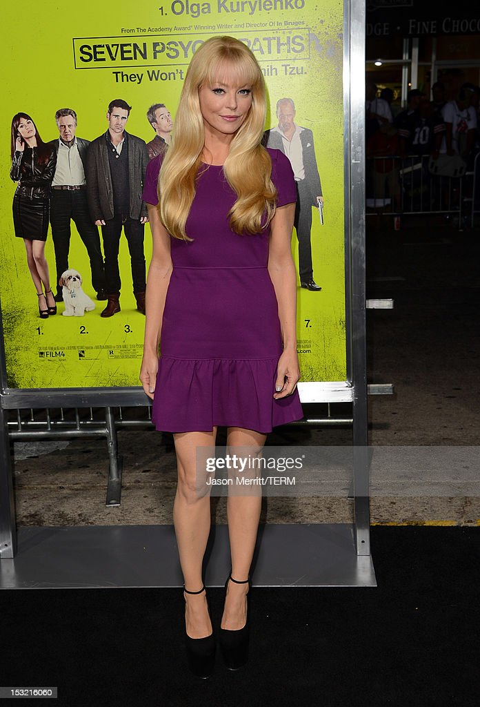 Actress Charlotte Ross arrives at the premiere of CBS Films' 'Seven Psychopaths' at Mann Bruin Theatre on October 1, 2012 in Westwood, California.