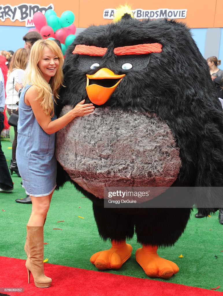 Actress Charlotte Ross arrives at the premiere of Sony Pictures' 'The Angry Birds Movie' at Regency Village Theatre on May 7, 2016 in Westwood, California.