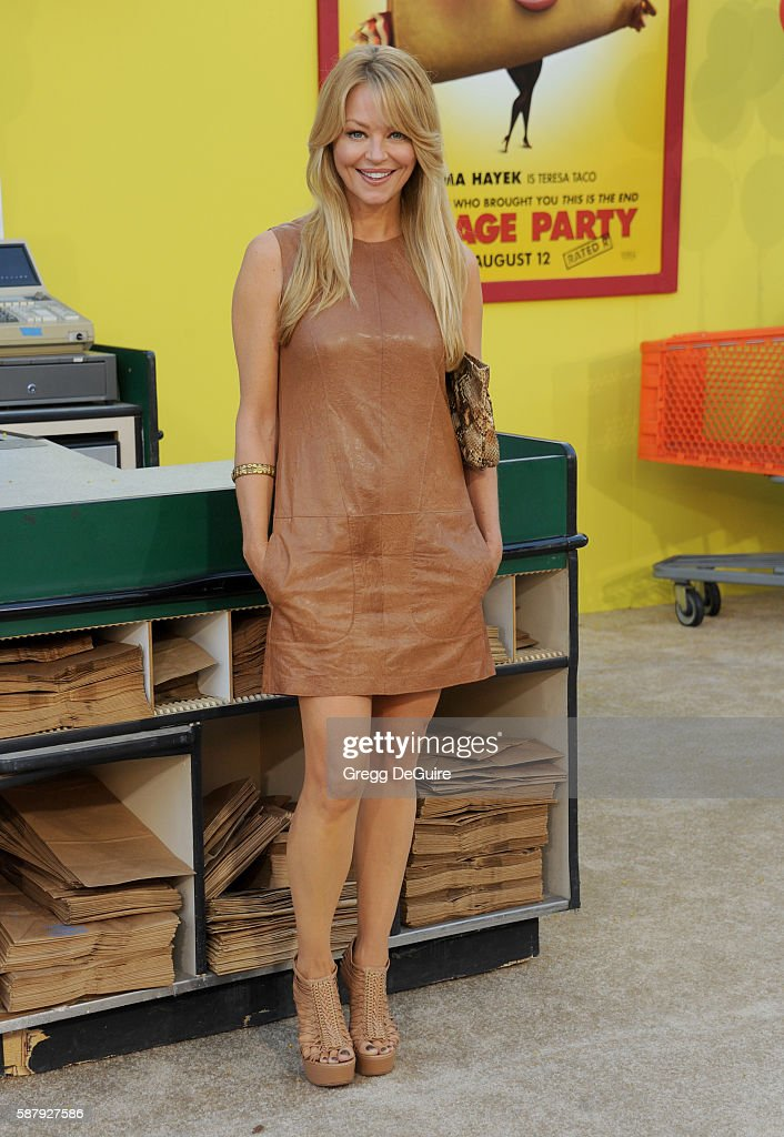 Actress Charlotte Ross arrives at the premiere of Sony's 'Sausage Party' at Regency Village Theatre on August 9, 2016 in Westwood, California.