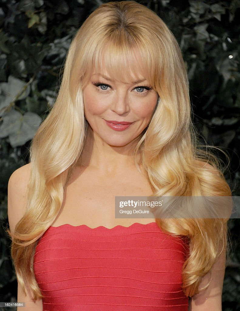 Actress Charlotte Ross arrives at the QVC 'Red Carpet Style' party at Four Seasons Hotel Los Angeles at Beverly Hills on February 22, 2013 in Beverly Hills, California.