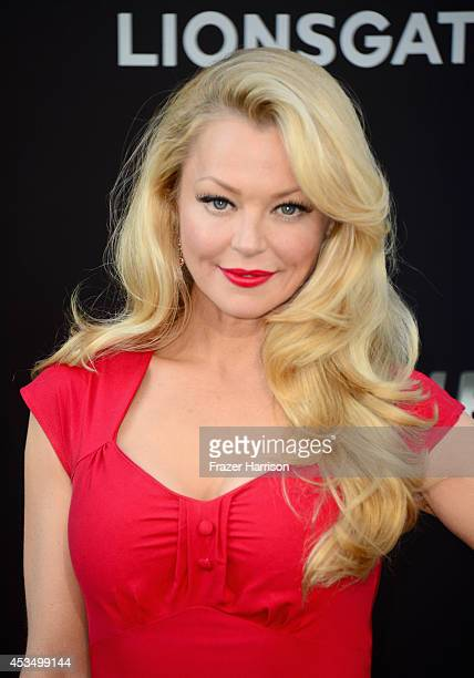 Actress Charlotte Ross attends Lionsgate Films' 'The Expendables 3' premiere at TCL Chinese Theatre on August 11 2014 in Hollywood California