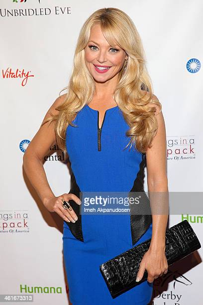 Actress Charlotte Ross attends the 5th Annual Los Angeles Unbridled Eve Derby Prelude Party at The London West Hollywood on January 9 2014 in West...