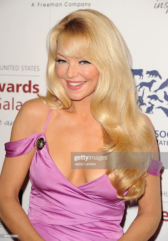 Actress Charlotte Ross attends The Humane Society's 2013 Genesis Awards benefit gala at the Beverly Hilton Hotel on March 23, 2013 in Beverly Hills, California.