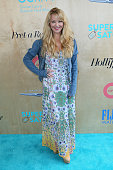 Actress Charlotte Ross attends the Ovarian Cancer Research Fund Alliance's 3rd Annual Super Saturday Los Angeles at Barker Hangar on June 11 2016 in...