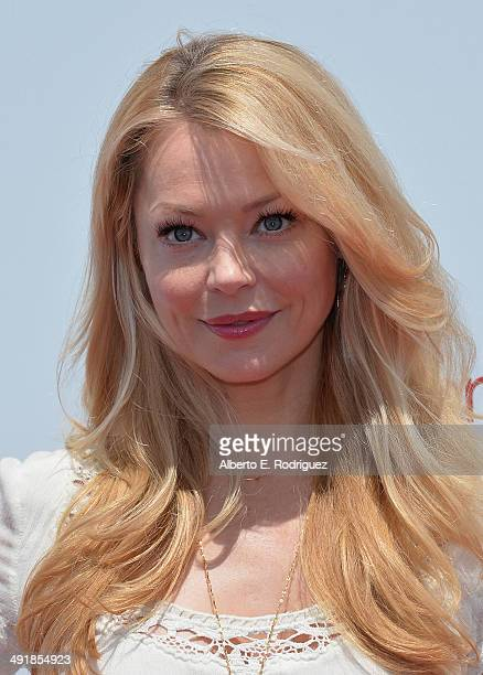 Actress Charlotte Ross attends the Ovarian Cancer Research Fund's Inaugural Super Saturday LA hosted by Molly Sims and Rachel Zoe at Barker Hangar on...